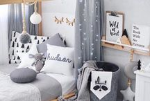 Nursery & Kids rooms ideas / Many examples on how to create a cosy nursery for you and your baby, and how to change and improve the kids room as your child grows.