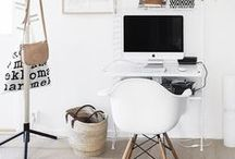 Home Office Ideas / Whether you're looking to furnish a whole room or just a corner of your living-room, you will find inspiration within this collection of images for a well organized home office to manage your workload highly effective, but in a relaxed environment.