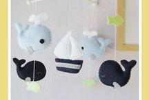 Nursery / Nursery colours, decor and things to make
