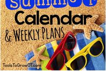 Summer Time! / Summer activities, resources, and ideas for fun!!