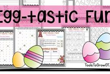 Easter / Easter themed activities and ideas.