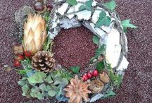 All Souls wreaths/ Allerseelenkränze / wreaths and arrangements