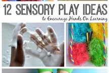 Sensory Play / Exploring with all the senses