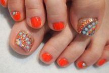 Toes Nail Arts / For More Toes Nail Arts Follow Us : http://heartjohn.com/
