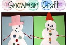 Snow and Snowmen / Winter-themed crafts and activities