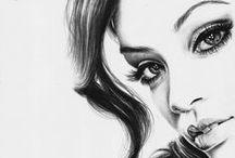 Drawings/Pantings of People / by Emily Hollingsworth