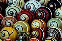 art with stones / paintet stones