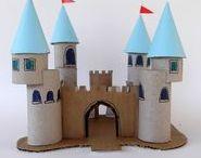 domky, chaloupky, hrady