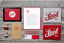 Cartes d'affaires & branding / De l'identité visuelle au brand complet (déclinaisons)