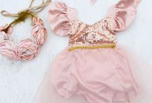 Pink and Gold Birthday Party Ideas for Girls / All the pink and gold girl themed birthday party ideas you could ever desire! Find the perfect pretty pink and gold dress, pretty pink desserts and fancy pink and gold party decorations. There's even extra fancy handmade dresses for the princess girl from Belle Threads.