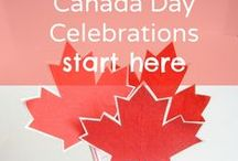 Canada Day Activities / Celebrate Canada Day with fun family crafts and activities, colorful decorations, and festive food.