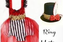 Circus/Carnival Birthday Party / Circus & Carnival party ideas: costumes, tutus, dresses, food, decor, supplies & more!  ✨Adorable outfits made by http://www.bellethreads.com ✨ https://www.facebook.com/bellethreads ✨ https://www.instagram.com/bellethreads