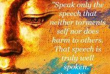 Buddha / Buddhism Quotes, Teaching & Behaviour
