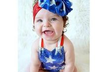 July 4th Birthday Ideas / July 4th birthday party ideas: costumes, tutus, dresses, food, decor, dessert, supplies, tips, photos & more!  ✨Adorable outfits by http://www.bellethreads.com ✨ https://www.facebook.com/bellethreads ✨ https://www.instagram.com/bellethreads