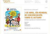 Día Mundial de Concienciación del Autismo / Selección de libros de nuestro fondo, documentales, asociaciones y otros recursos sobre los trastornos del espectro autista y su tratamiento.