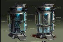 Sci-fi предметы
