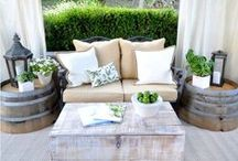 Outdoors - garden, terrace & balcony design / A bit on inspiration for your garden, terrace or balcony. Browse through these pictures to get inspiration on what type of outdoor furniture would fit you the best, how to decorate your outdoor space or how to get ready for an awesome garden party.