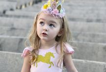 Magical Unicorn Birthday Parties / All the Unicorn party ideas you need! Unicorn outfits, decorations, food, favors, invitations, activities and more!  ✨Adorable outfits for girls brought to you by http://www.bellethreads.com ✨ https://www.facebook.com/bellethreads ✨ https://www.instagram.com/bellethreads