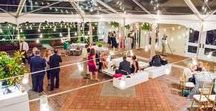 """Sophisticated Wedding at Decatur House /  Just steps from the White House, the Decatur House gave guests a """"true DC experience,"""" with a refined color scheme of black, white, navy and emerald with pops of vibrant magenta and gold. Photojournalism by Rodney Bailey"""
