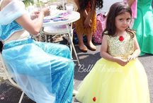Princess: Beauty and The Beast Birthday Party Ideas / Beauty & the Beast birthday party ideas including Belle look-alike tutus and dresses, princes party decorations, beauty and the beast invitation ideas and more. Shop adorable and original handmade costumes from Belle Threads.