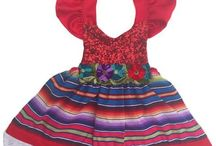 Fiesta Birthday Party Ideas - Dia De Los Muertos Party Ideas / Kids fiesta theme parties and ideas. Fiesta/Dia De Los Muertos party decorations and Mexican party food. Shop original handmade fiesta themed costumes and dresses from Belle Threads.