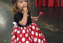 Minnie Mouse Birthday Party Ideas + Decorations / Minnie Mouse themed parties: party costumes and tutus, birthday party printables, party decorations and supplies, Minnie Mouse theme party food and desserts. From pink to red - there's adorable Minnie Mouse dresses and costumes, including handmade girls dresses and costumes by Belle Threads.