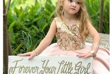 Blush & Gold Inspiration / All the blush and gold girl themed birthday party ideas you could ever desire! Find the perfect pretty blush and gold dress, fancy gold desserts and fancy blush and gold party decorations. There's even extra fancy handmade dresses for the princess girl from Belle Threads.