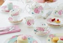 Tea Party Birthday Ideas / All the tea party themed birthday party ideas you could ever desire! What to wear, Food, decor, dessert & more! Adorable outfits for girls brought to you by http://www.bellethreads.com