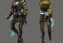 Персонажи Sci Fi