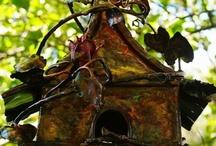 Pour les oiseaux (birdhouses and...)) / by Susana Merlo de Novillo