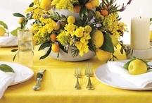 Ideas for party or wedding (citrus,yellow,green,orange)... / by Susana Merlo de Novillo
