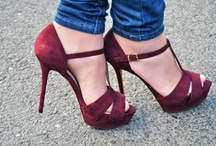 Dream Shoes / I seriously doubt that I would ever wear any of these shoes. / by Phyllis Chaffin