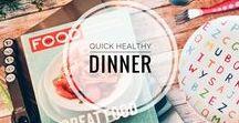 FOOD | Healthy Dinners