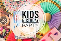 KIDS | Birthday Party Ideas / Kids birthday ideas - party favors, decorations, games