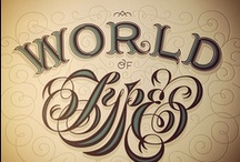 Type & Hand Lettering / Typography, hand lettering and words...oh my!  / by G. Taylor II