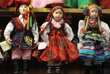 Polish Folk Costuming / Polish Folk Art is alive with spirited colors, inspired by nature.  / by Heart Dancing