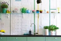 Kitchen/dining room-summer house / Ideas and inspiration for our Swedish summer house / by Hedvig Murray