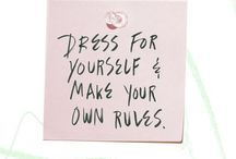 My Fashion Inspiration / This represents my inner DIVA~ / by Kelly Pratt