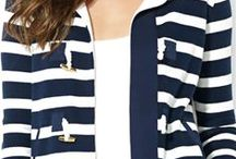 "Un toque ""navy"", a nautical touch... / by Susana Merlo de Novillo"