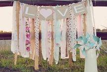 D.I.Y wedding decoration