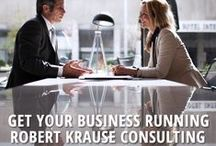 Get Your Business Running / Business graphics: Interesting, inspirational, and motivational graphics or best-practice examples in consulting. http://www.robert-krause.com / by Robert Krause Consulting