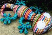 Sewing toys (šité hračky)