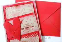 Handmade Greeting Cards - Invitations - Pattern Embossed  cards / Handmade Personalized Cards, Invitations, DIY invitation