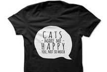 Cat Shirts / Cat Shirts - Funny shirts, awesome t-shirts, cool custom T-shirts & Limited Edition Graphic Tees.