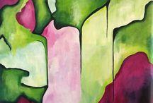 Art by Pia Malmstrup Danish design / New art Danish art Painting Contemporary art Danish Design