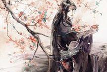 asian style art & manga