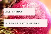 All Things Christmas / It's the most wonderful time of the year! Christmas gifts, decorating, crafts, entertainment, games and general festive cheer with a sprinkle of snow :)