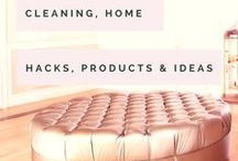 Cleaning | Home Hacks, Products & Ideas / Cleaning everything really well along with some lovely hacks and shortcuts to make life, clothes, house and car all sparkly!