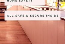 Home Safety / Home is where the heart is, so it's important that we keep it safe, protected and clean! There are so many things to keep ourselves safe from; fire, crime, burglary, nuisance, slips, trips, falls, electrics, water damage....the list is endless. Here you'll find the top tips and gadgets to keep home sweet home as safe and cosy as possible!