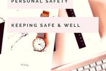 Personal Safety / Keeping ourselves safe and well is so important because, let's face it; without us the world might just stop turning! (hehe!) so let's put ourselves first and have a look at all things personal safety from first aid to self defence, travel safety to general awareness.